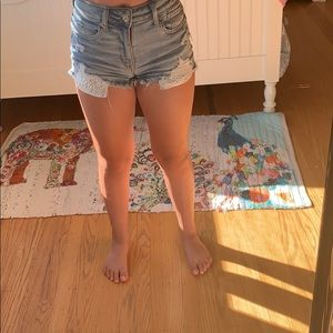 American Eagle size 00 Jean shorts